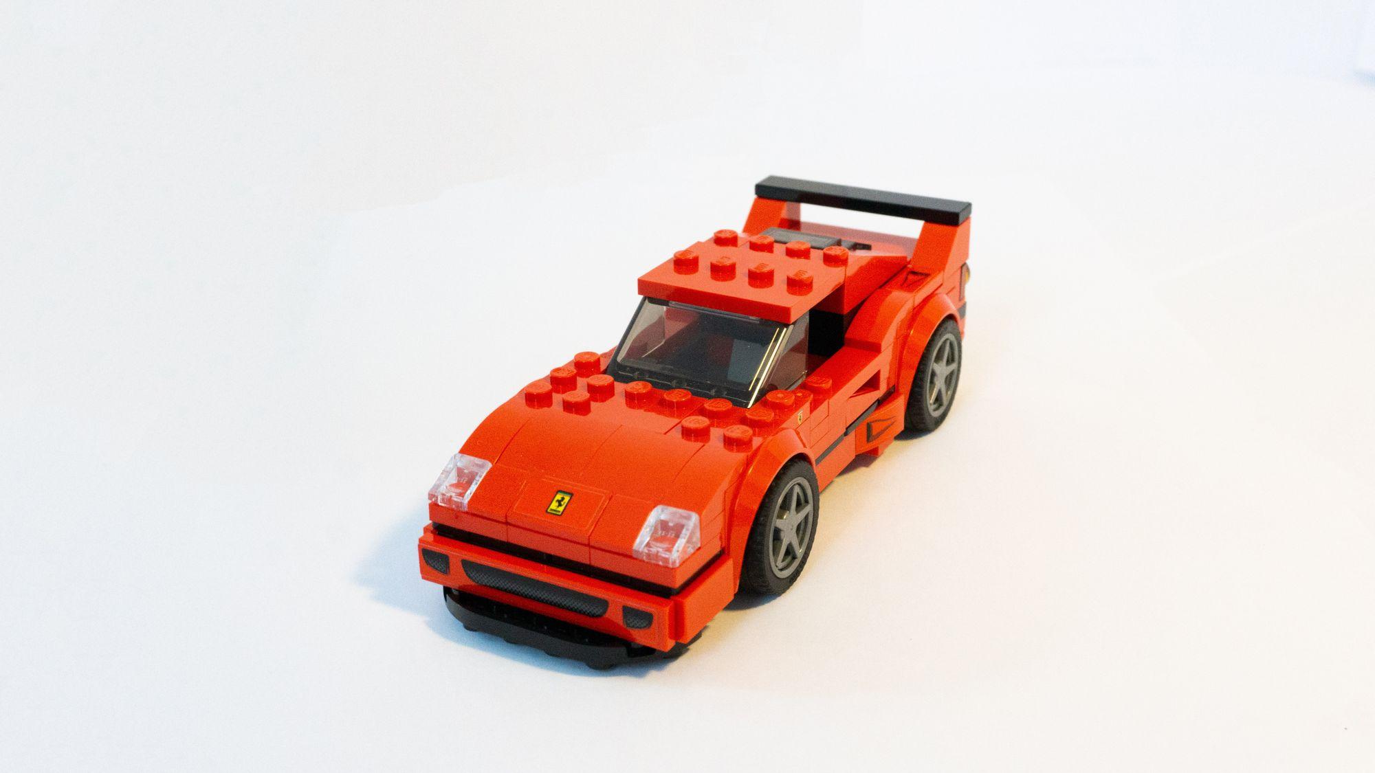 Ferrari en lego