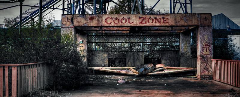 Photo d'un lieux dévasté