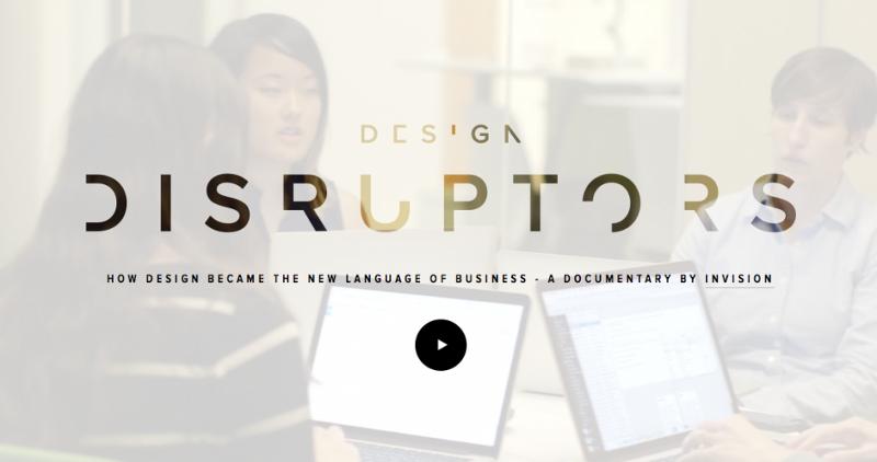 Cover du documentaire Design Disruptors