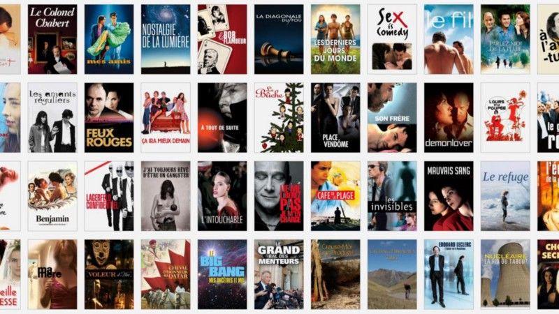Interface de Netflix