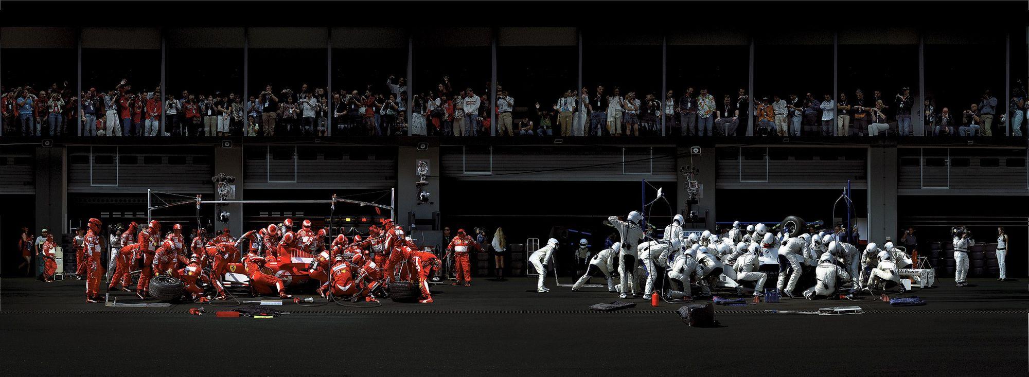 Formule 1 dans les starting blocks